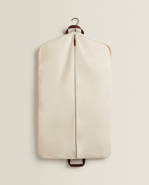 Canvas And Leather Garment Cover offer at £29.99