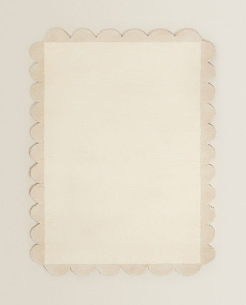 Scalloped Cotton Rug offer at £189.99
