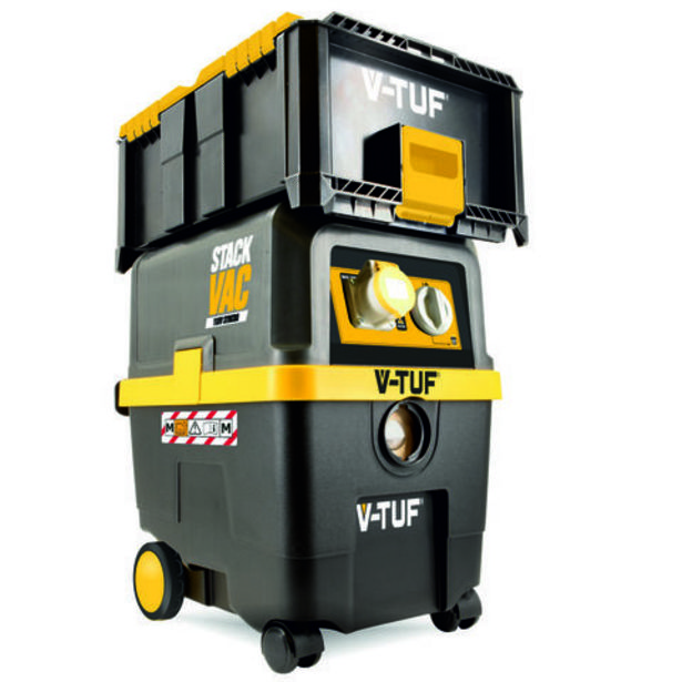 V-TUF M-Class Rated StackVac Dust Extractor With Modular Storage Box Included (110V) offer at £489