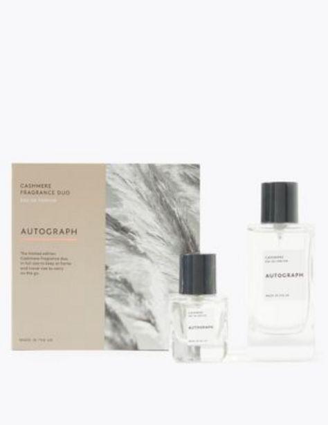 Cashmere Eau De Parfum Duo offer at £22.5