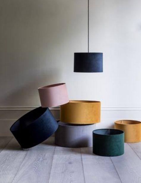 Velvet Lamp Shade offer at £15