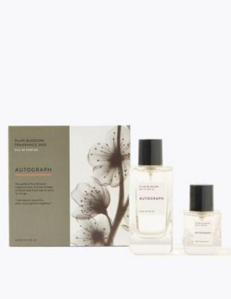 Plum Blossom Eau De Parfum Duo offer at £22.5