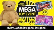 Mega Toy Event offer at